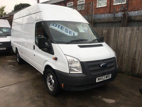 Ford Transit T350 High Roof Jumbo 125ps
