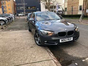 BMW 1 SERIES 116d SPORT.Hpi Clear+Cruise+Leather+BT