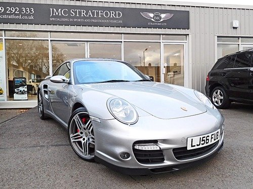 Porsche 911 997 TURBO TIPTRONIC S 1 FORMER KEEPER LOW RATE FINANCE OF 6.9 %APR REPRESENTATIVE