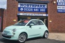 Fiat 500 LOUNGE - BUY NO DEPOSIT FROM £27 A WEEK T&C APPLY