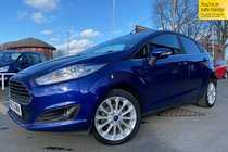 Ford Fiesta TITANIUM X Rev Cam, B/T, H/Leather used car in deep impact blue