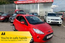 Ford Ka EDGE ONLY £30 FOR 1 YEARS ROAD TAX LOCAL LADY OWNER SERVICE HISTORY ABS AIR CON ELECTRIC FRONT WINDOWS ELECTRIC MIRRORS