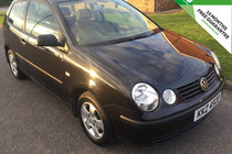 Volkswagen Polo 1.2 S A/C VERY LOW MILES SERVICE HISTORY