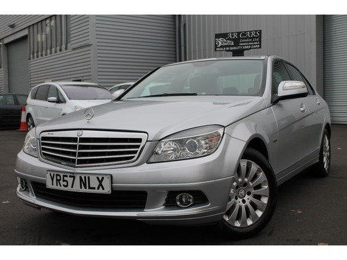 Mercedes C Class C 220 CDI ELEGANCE   F.S.H+Leather+2 Keys+Bluetooth+Finance Available