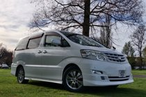 Toyota Alphard 2.4l Petrol Auto 8 Seats 5dr leather