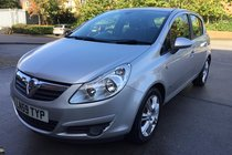 Vauxhall Corsa 1.4 i 16v Design 5dr (a/c)*HPI CLEAR*FULL SERVICE HISTORY*ONE FORMER KEEPER*2 KEYS*MOT DUE 19/10/2018*FREE 6 MONTHS WARRANTY