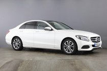 Mercedes C Class C250 D SPORT PREMIUM.Pan+SatNav+Leather+RevCam