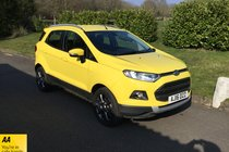 Ford ECOSPORT TITANIUM BLUETOOTH AIR CON FULL SERVICE HISTORY
