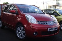 Nissan Note 1.5 DCI 86 ACENTA R 5 DR H/BACK MPV