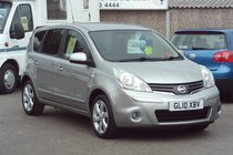 Nissan Note N-TEC 1.4 69,000 MILES SERVICE HISTORY GREAT VALUE
