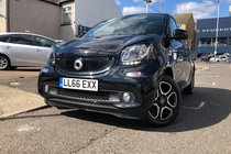 Smart ForFour PRIME PREMIUM PLUS.Leather+Crusie+SatNav+RecCam