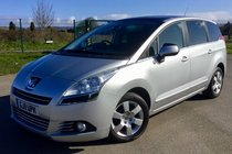 Peugeot 5008 1.6 HDI ENVY PEOPLE CARRIER ,DVD SYSTEM