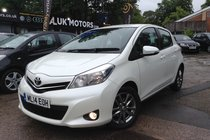 Toyota Yaris VVT-I ICON PLUS FROM £110.60 PER MONTH