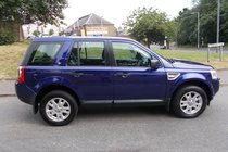 Land Rover Freelander TD4 XS++LOW MILEAGE +HIGH SPEC+7 SERVICE STAMP HISTORY++