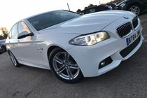 BMW 5 SERIES 520d 2.0 190 M SPORT STEP SALOON