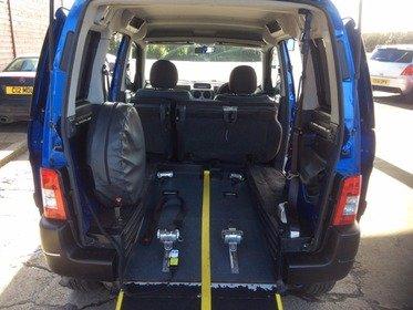 Peugeot Partner 2007 HDI 90 COMBI ESCAPADE Wheelchair Accessible Vehicle