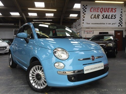 Fiat 500 1.2I LOUNGE S/S AUTOMATIC, 1 OWNER, FULL FIAT HISTORY, BLUETOOTH