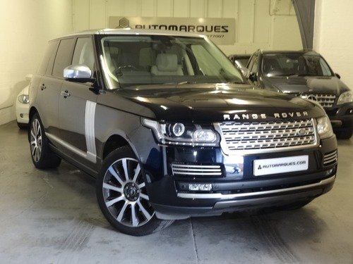 Land Rover Range Rover 3.0 TDV6 AUTOBIOGRAPHY AUTO 4WD