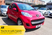 Peugeot 107 URBAN FSH ! 29,159 MILES ! 1 FORMER KEEPER ! £21 YEAR TAX ! £36 PW & NO DEPOSIT !