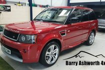 Land Rover Range Rover Sport 3.0 SDV6 RED EDITION HSE AUTO 4WD