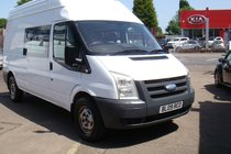Ford Transit 2.4 350 LWB DIESEL RWD HIGH ROOF TDCi