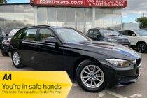 BMW 3 SERIES 320d EFFICIENT DYNAMICS BUSINESS TOURING 6SPEED SAT NAV BLUETOOTH PHONE CRUISE CONTROL FULL DAKOTA VENETIAN LEATHER TRIM