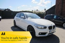 BMW 1 SERIES 116d SE AUTO ! ZERO ROAD TAX ! FSH ! 1 F/OWNER ! SATNAV/MEDIA/BT/PHONE ! RESERVE & COLLECT !