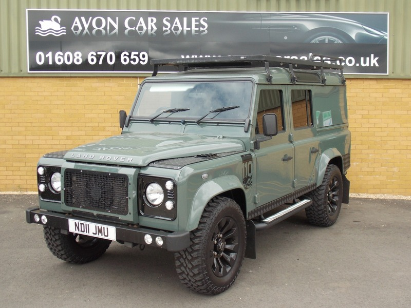 Land Rover Defender 110 Td Hard Top The Ultimate Defender Avon Car