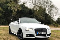 Audi A5 Cabriolet 3.0 TDI S line Special Edition Cabriolet S Tronic quattro 2dr