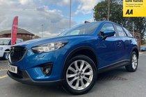 Mazda 5 D SPORT NAV used car in metallic sky blue