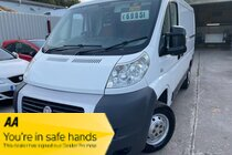 Fiat Ducato 30 SWB 100 MULTIJET P/V ONE OWNER SERVICE HISTORY NEW MOT VERY CLEAN EXAMPLE PX WELCOME FINANCE OPTIONS AVAILABLE NO VAT