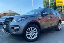 Land Rover Discovery TD4 SE TECH 7st AUTO used car in Grey