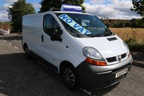 Renault Trafic SWB 80 thousand miles ply lined ideal day van excellent runner *no vat*