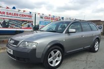 Audi Allroad 2.7T QUATTRO PETROL AUTO **LOW 53,102 MILES **9 SERVICE STAMPS **TIMING BELT+WATER PUMP REPLACED **2 KEYS **LEATHER **SENSORS