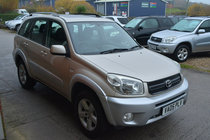 Toyota RAV4 VVT-I XT4 5 DOOR PETROL MANUAL