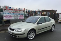 Renault Laguna 1.8 16v DYNAMIQUE 5DR 2003/53 ** LOW 56,836 MILES ** 12 MONTH MOT INCLUDED ** NEW CLUTCH RECENTLY FITTED ** 1 OWNER SINCE 2004