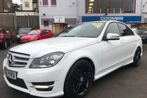 Mercedes C Class C220 CDI BLUEEFFICIENCY AMG SPORT