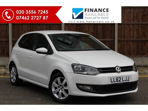 Volkswagen Polo 1.2 MATCH 60PS >> 1 OWNER FROM NEW <<