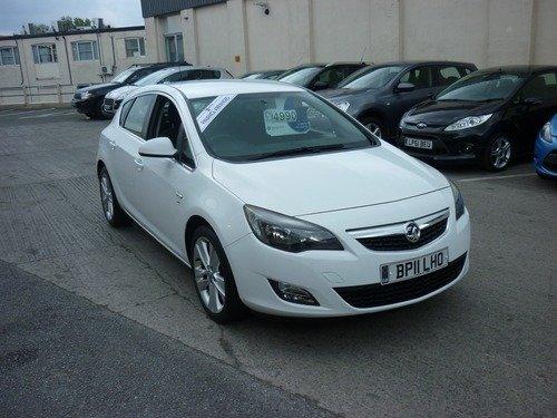 Vauxhall Astra 1.4I 16V TURBO SRI 140PS Finance Available