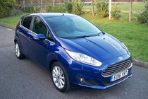 Ford Fiesta Titanium 1.0T EcoBoost 100PS AUTOMATIC HIGH SPEC BLUETOOTH FULL SERVICE HISTORY