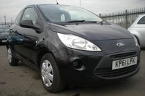 Ford Ka Studio 1.2, START/STOP FUNCTION