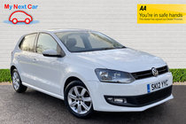 Volkswagen Polo MATCH DSG STUNNING WHITE COLOUR