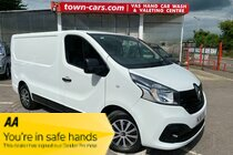 Renault Trafic SL27 BUSINESS PLUS DCI S/R P/V TURBO & RECON ENGINE JUST FITTED  6 SPEED AIR CON SAT NAV   BLUETOOTH REAR PARKING SENSORS