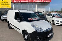 Vauxhall Combo 2000 L1H1 CDTI LOW MILEAGE FULL SERVICE HISTORY NO VAT!