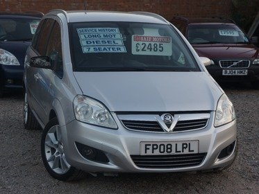 Vauxhall Zafira 1.9CDTI  DESIGN DPF 150PS