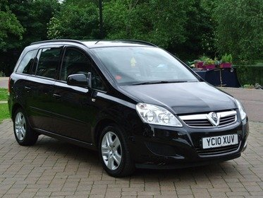 Vauxhall Zafira 1.6 16V VVT  EXCLUSIV 115PS F,V,S,H Motability + one lady owner