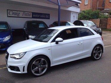 Audi A1 1.4 TFSI S LINE S TRONIC 185PS Black Edition
