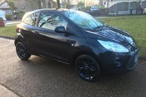 Ford Ka Zetec Black Edition 1.2 69PS