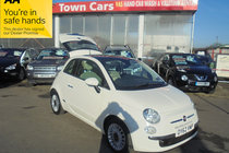 Fiat 500 LOUNGE ONLY £30 FOR ROAD TAX