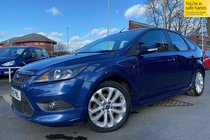 Ford Focus ZETEC S used car in blue